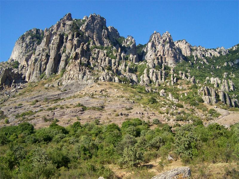 Долина приведений Крым фото