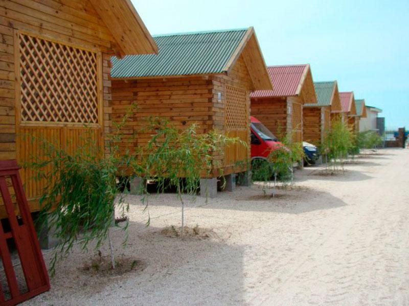 База отдыха «Солнышко» в курортном поселке Кача в Крыму