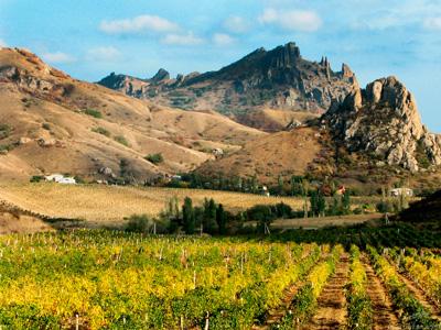 Карадаг — горно-вулканический массив в Крыму