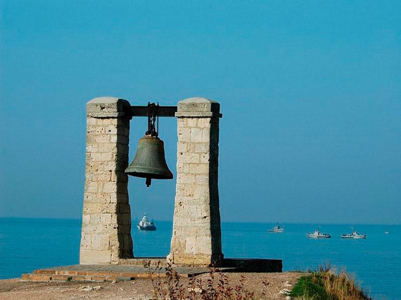 Знаменитый колокол в Херсонесе Таврическом