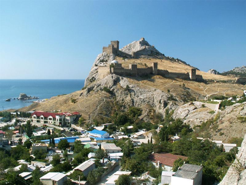 Крым Генуэзская крепость