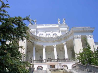 Санаторий «Украина» в Крыму - один из лучших санаториев неподалеку от Ялты