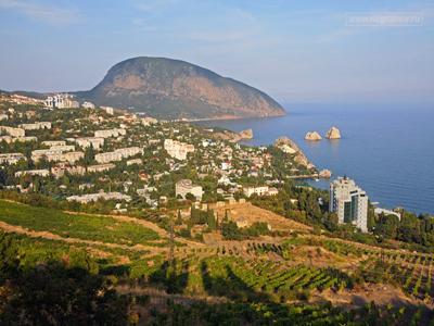 Отдых в Гурзуфе - курортном посёлке на Южном Берегу полуострова Крым