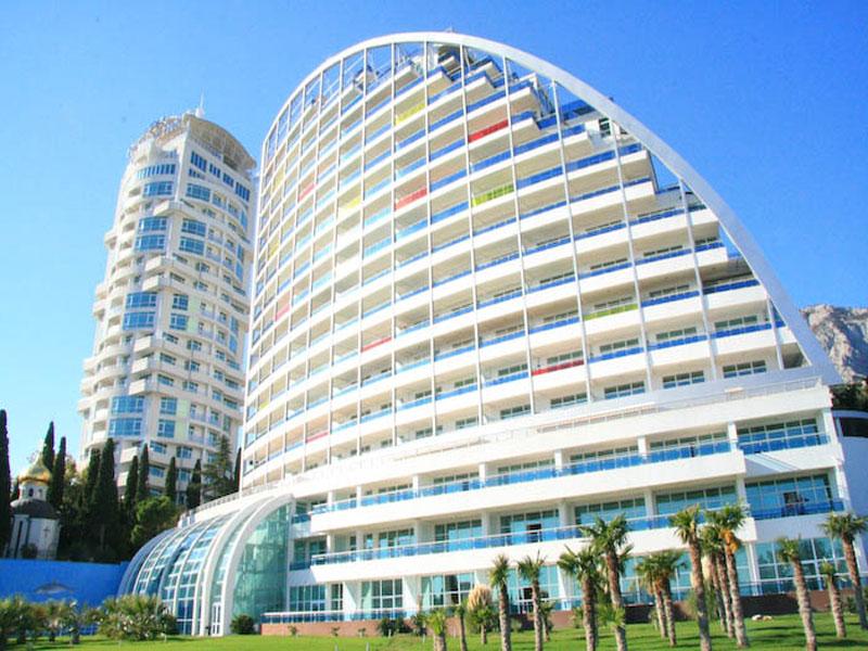 Популярная гостиница под названием «Респект Холл» в Кореизе