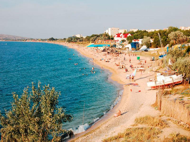 Отдых в Щелкино Крым фото