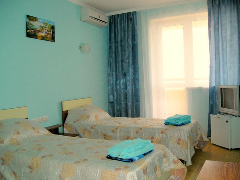 Пример одного из номеров для отдыхающих в санатории «Юрмино» в Крыму