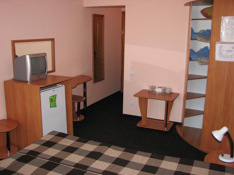 Пример одного из номеров для отдыхающих в пансионате «Голубой залив» в Коктебеле