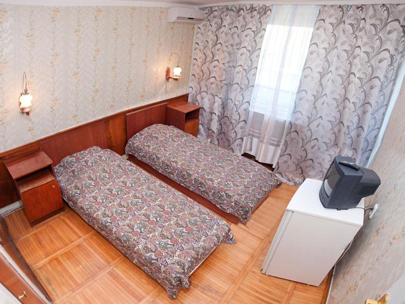 Пример одного из номеров для отдыхающих пансионата