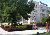 Санаторий Черноморец в курортном поселке Песчаное