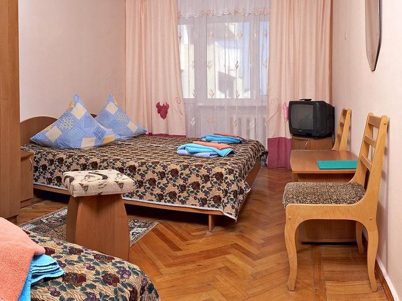 Пример комнаты для отдыхающих в санатории «Орен-Крым» в Евпатории