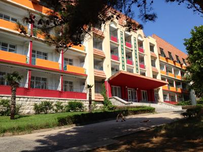 Санаторий «Жемчужина» - медицинский реабилитационный центр в Гаспре
