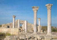 Древний греческий город Херсонес Таврический в Крыму